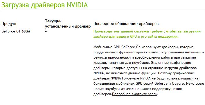 Драйвера На Видеокарту Geforce Gt 630M