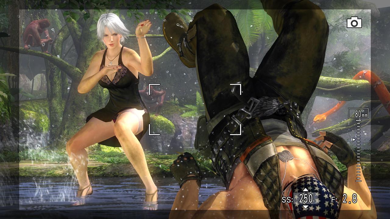 Девушки Dead or Alive 5 в сексуальных костюмах