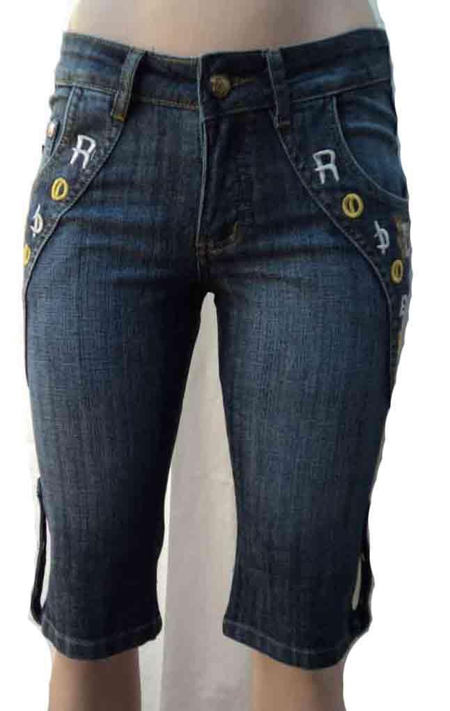 Как сделать из джинс бриджи женские своими руками