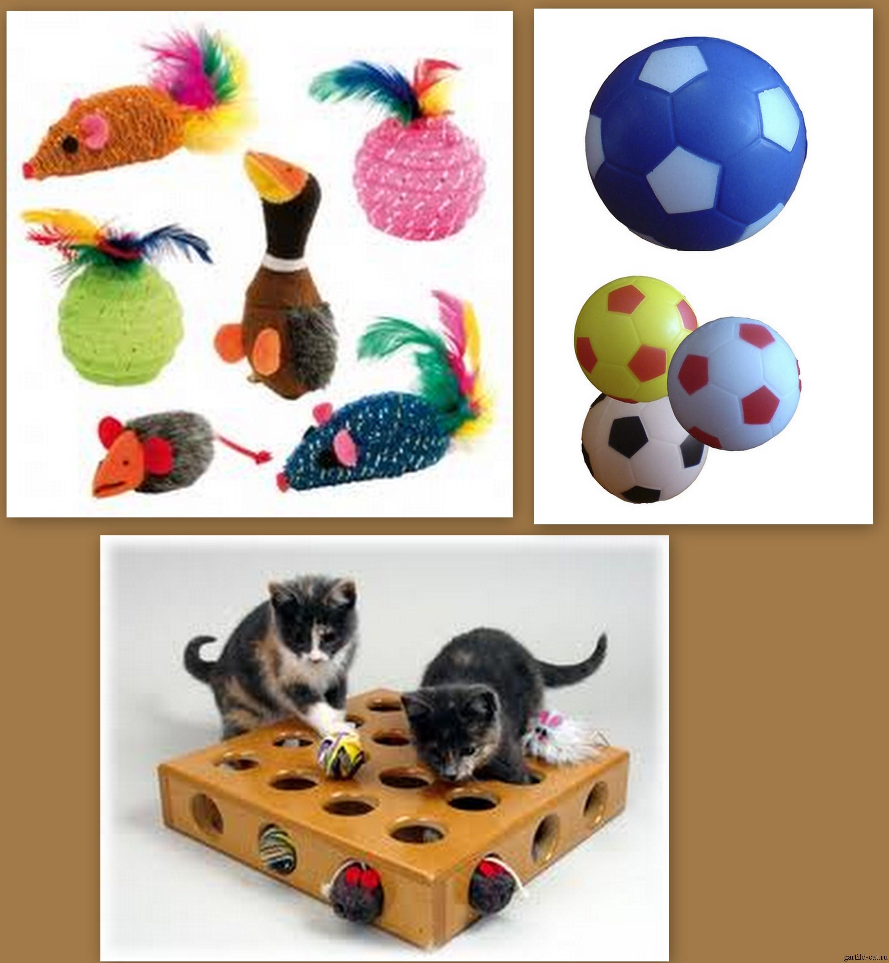 Игрушка для кошки с мячиками своими руками