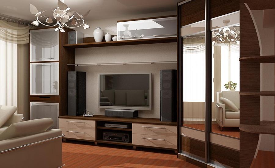 мебель для гостиной на заказ в Москве