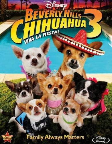 Крошка из Беверли-Хиллз 3 / Beverly Hills Chihuahua 3: Viva La Fiesta! (2012) DVDRip
