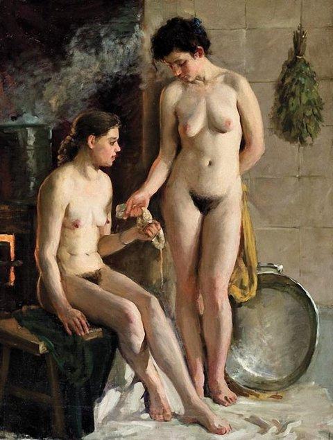 женские бани эротика фото