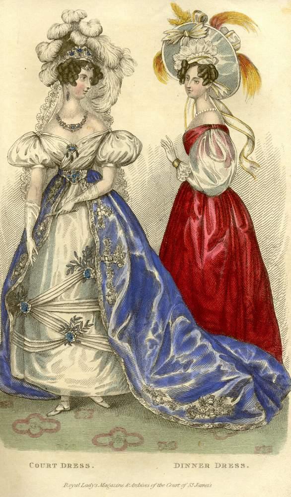 Платья Питерских Дам 18-19 Века