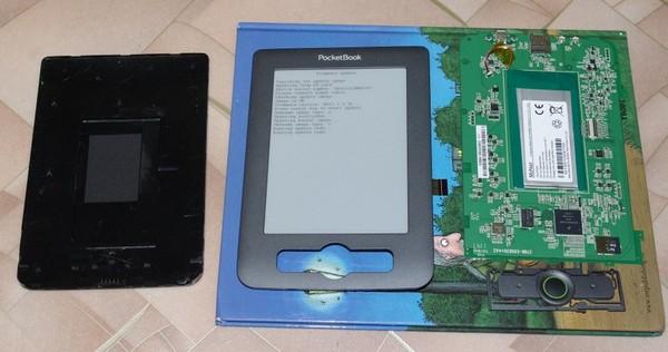 Разборка ридера PocketBook 611 Basic-15