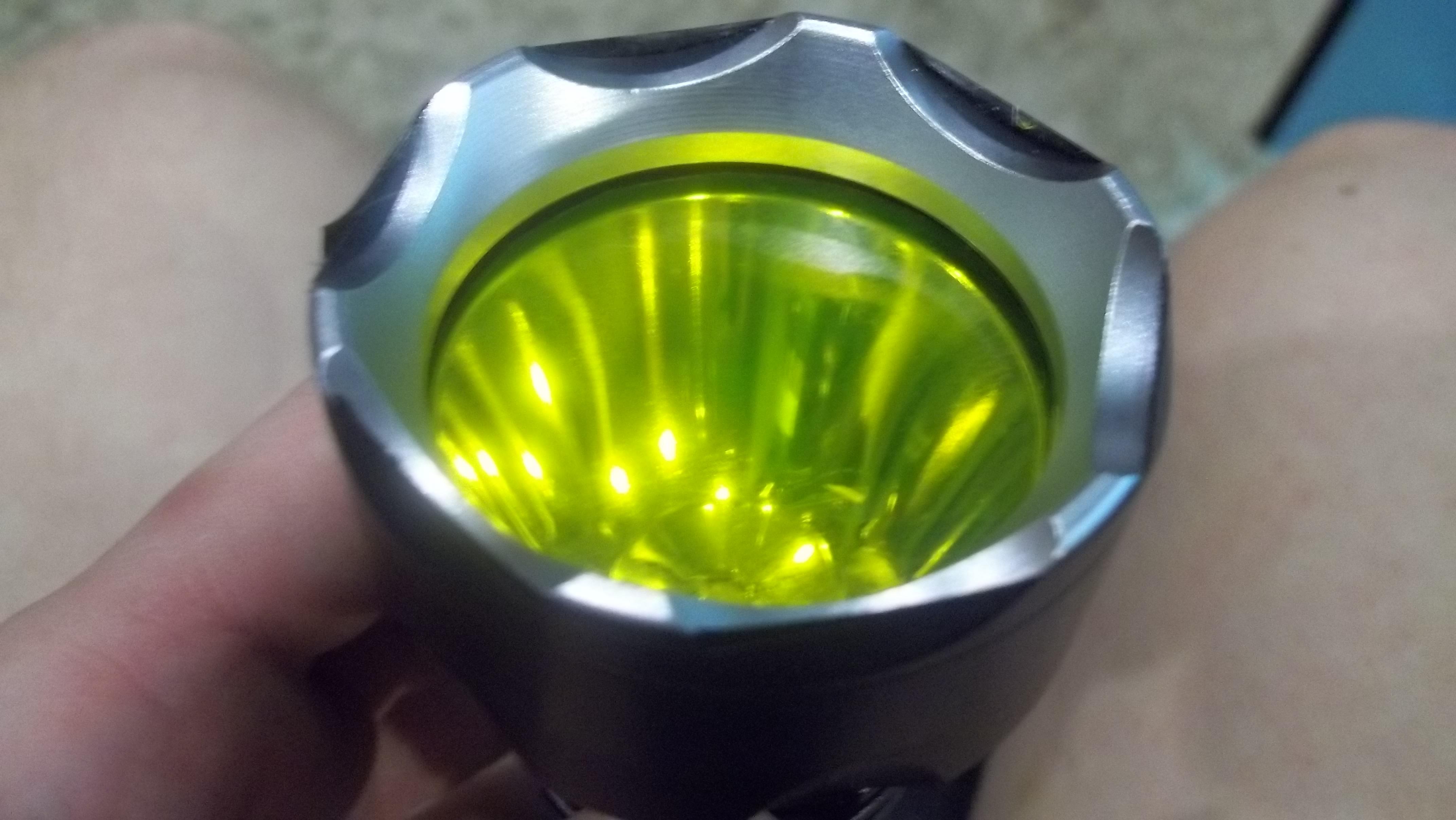 Желтый светофильтр для фонаря своими руками