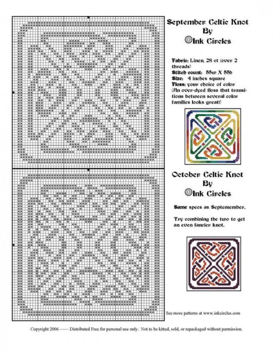 Схемы кельтские узоры крючком схемы