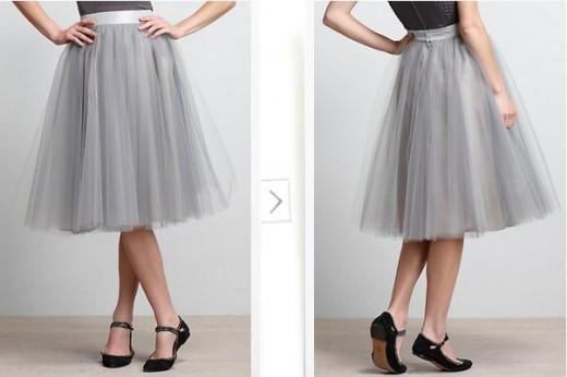 выкройка юбки на кокетке для подростка девочки