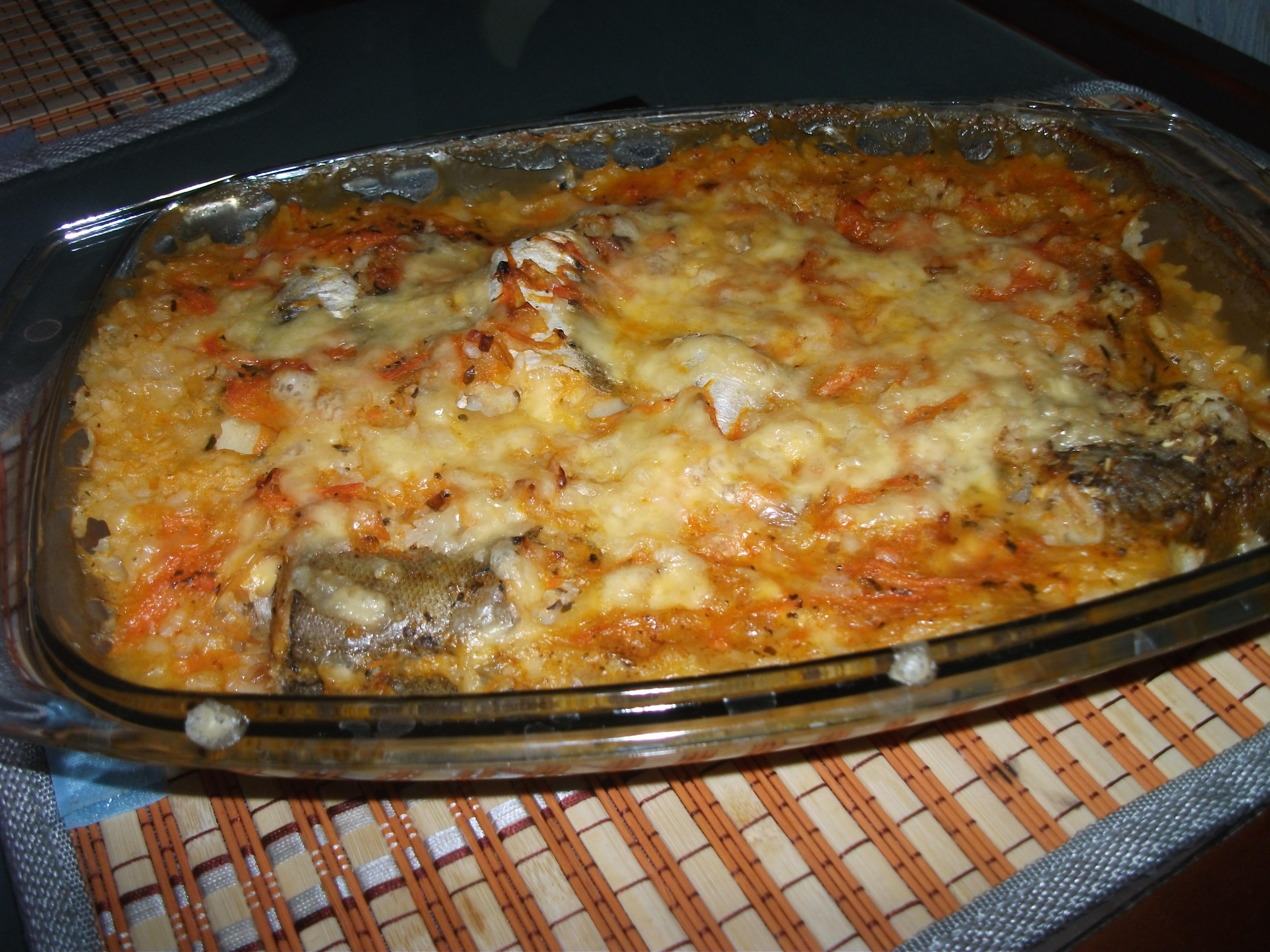 Рецепт рыбы запеченной в духовке в майонезе