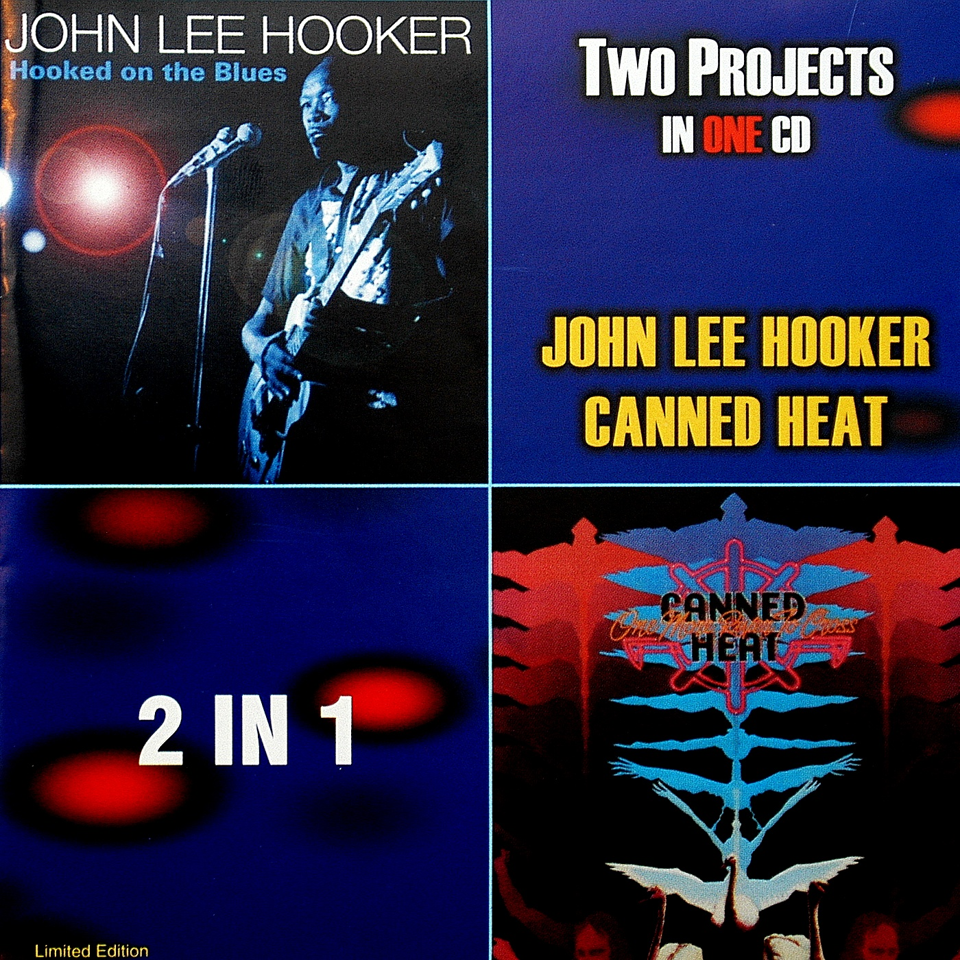 Canned Heat & John Lee Hooker - Hooked On The Blues / One More River To Cross (n/a)