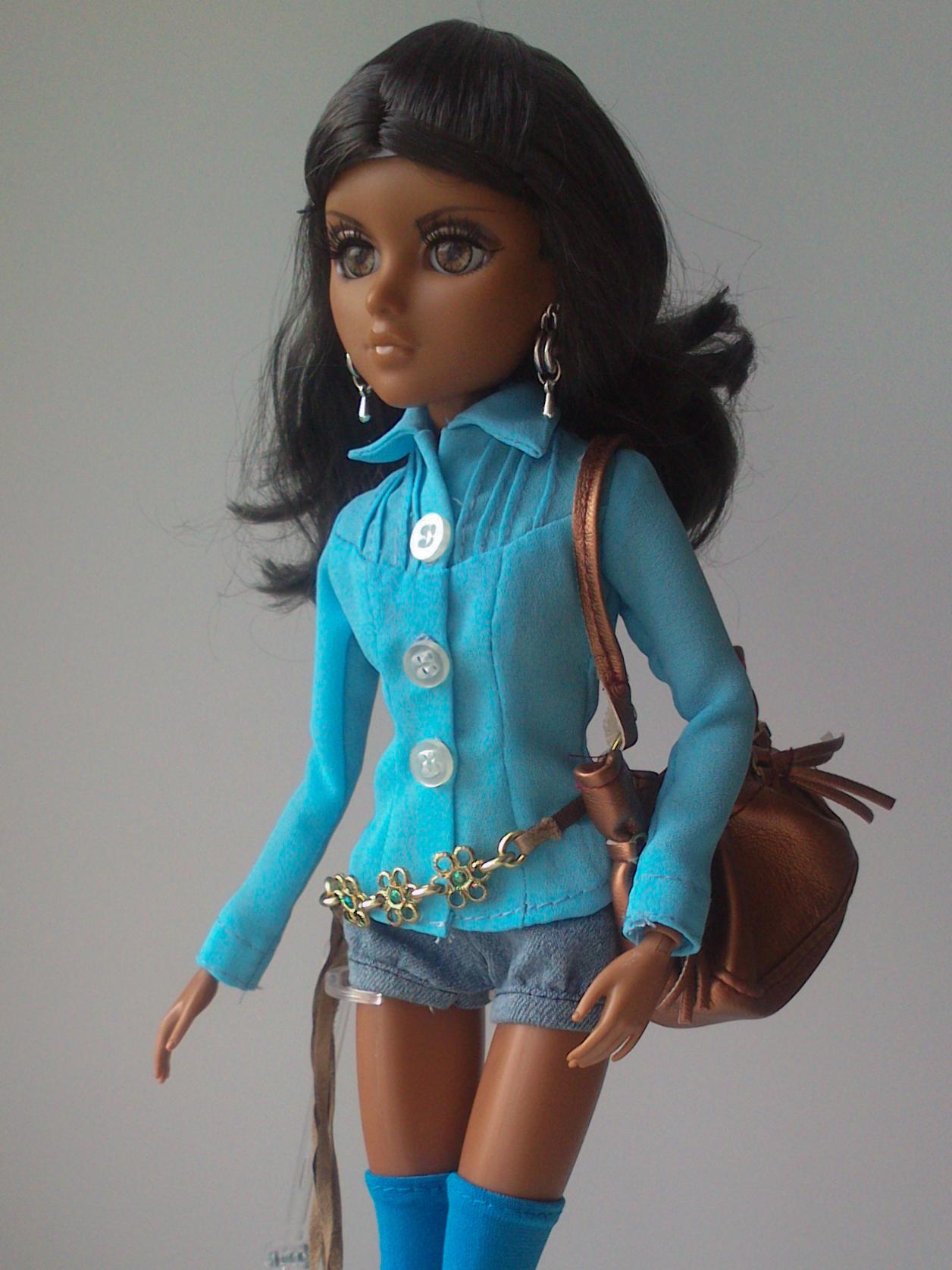 Вязаная одежда для кукол мокси тинс своими руками