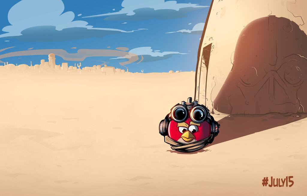 Rovio тизерит приквел к Angry Birds: Star Wars   анонс Star Wars angry birds