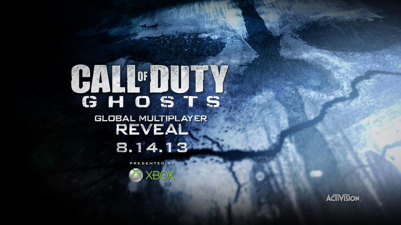 Премьера мультиплеера Call of Duty: Ghosts намечена на 14 августа   игры игра