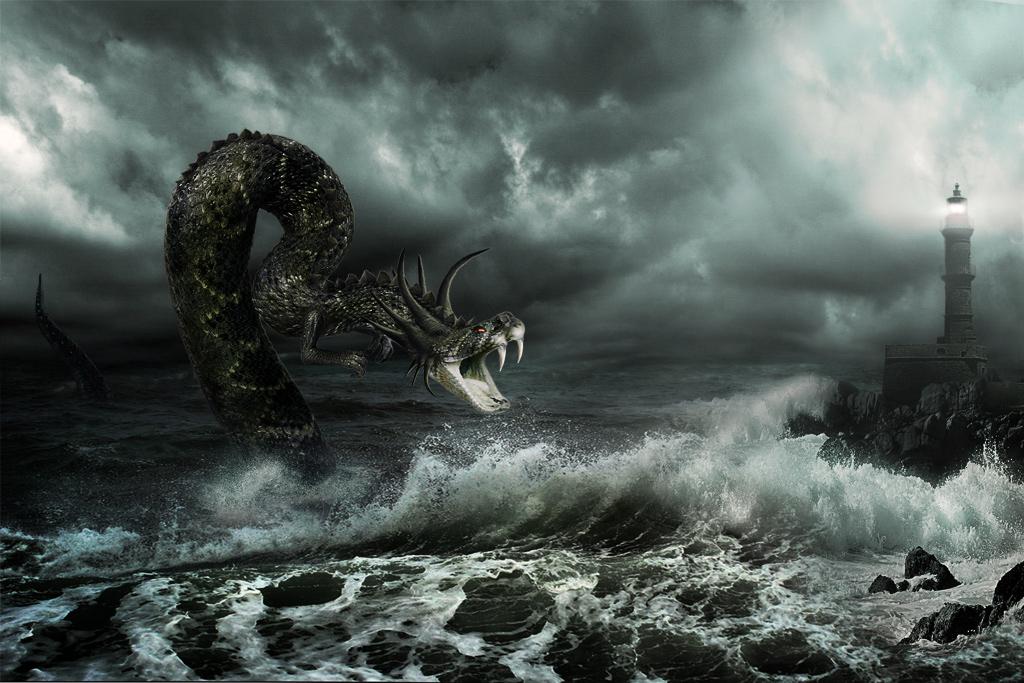 Фото и картинки морских чудовищ