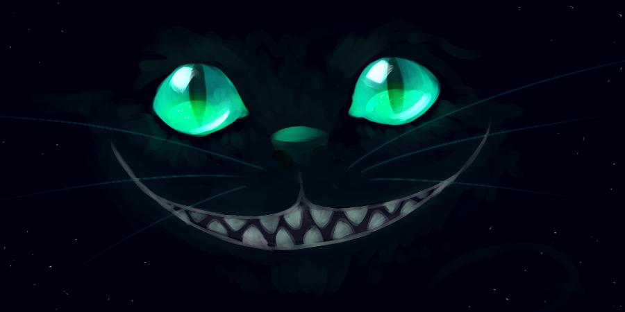 Картинка улыбка чеширского кота