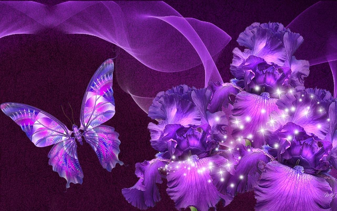 красивые необычные цветы картинки анимация форсунок веерным распылением